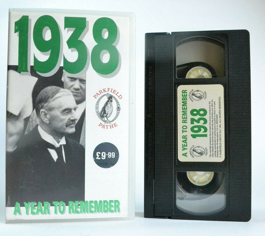 1938: A Year To Remember - (1990) Documentary - History In Motion - Pal VHS