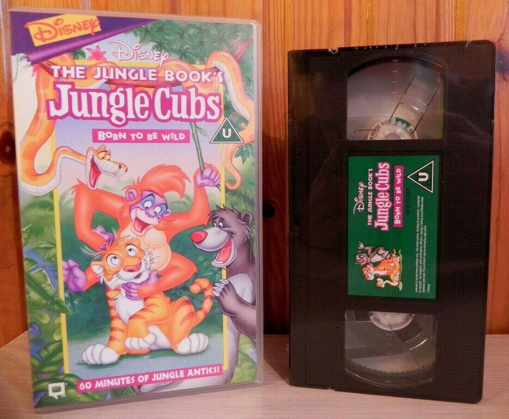 Jungle Book: Jungle Cubs - Disney - Brand New Sealed - Children's - Pal VHS
