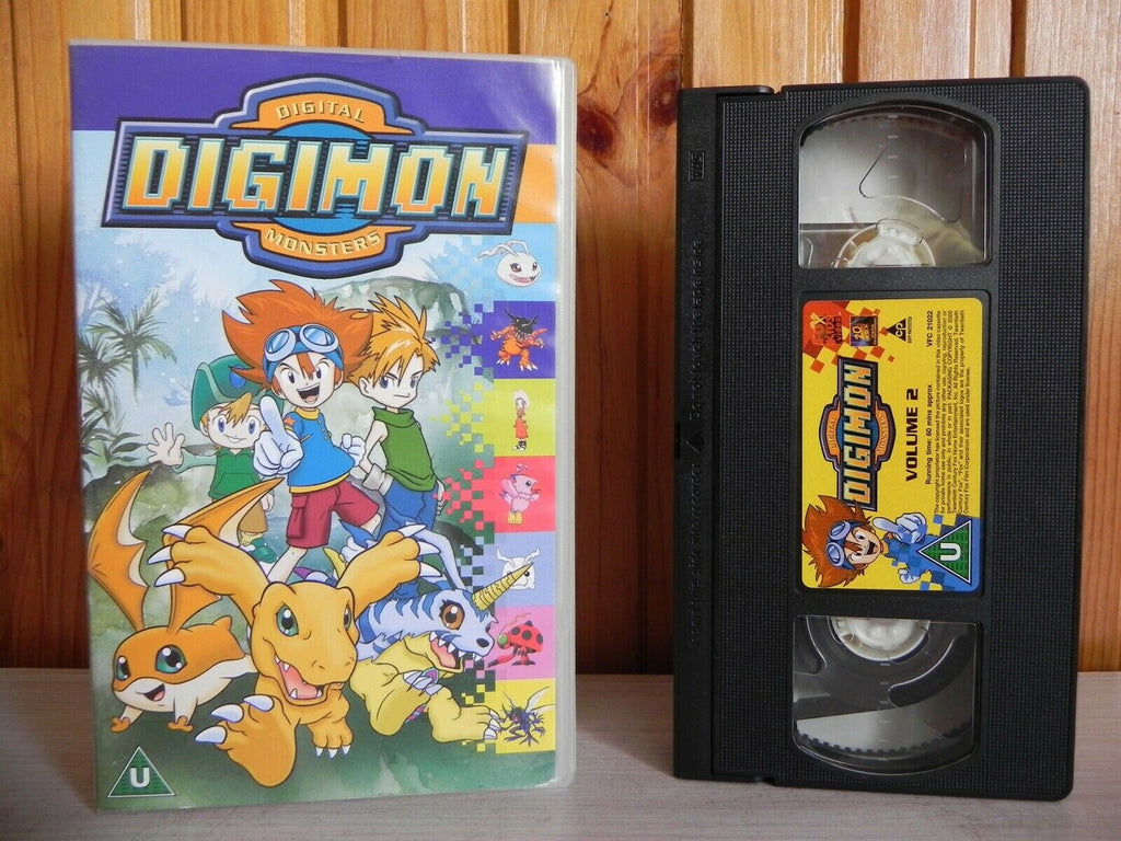 Digimon - Digital Monsters - Volume 2 - Fox Kids Video - Three Episodes - VHS