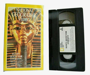 Egypt: Quest For Eternity: Richard Basehart - River Nile - Luxor - Karnak - VHS