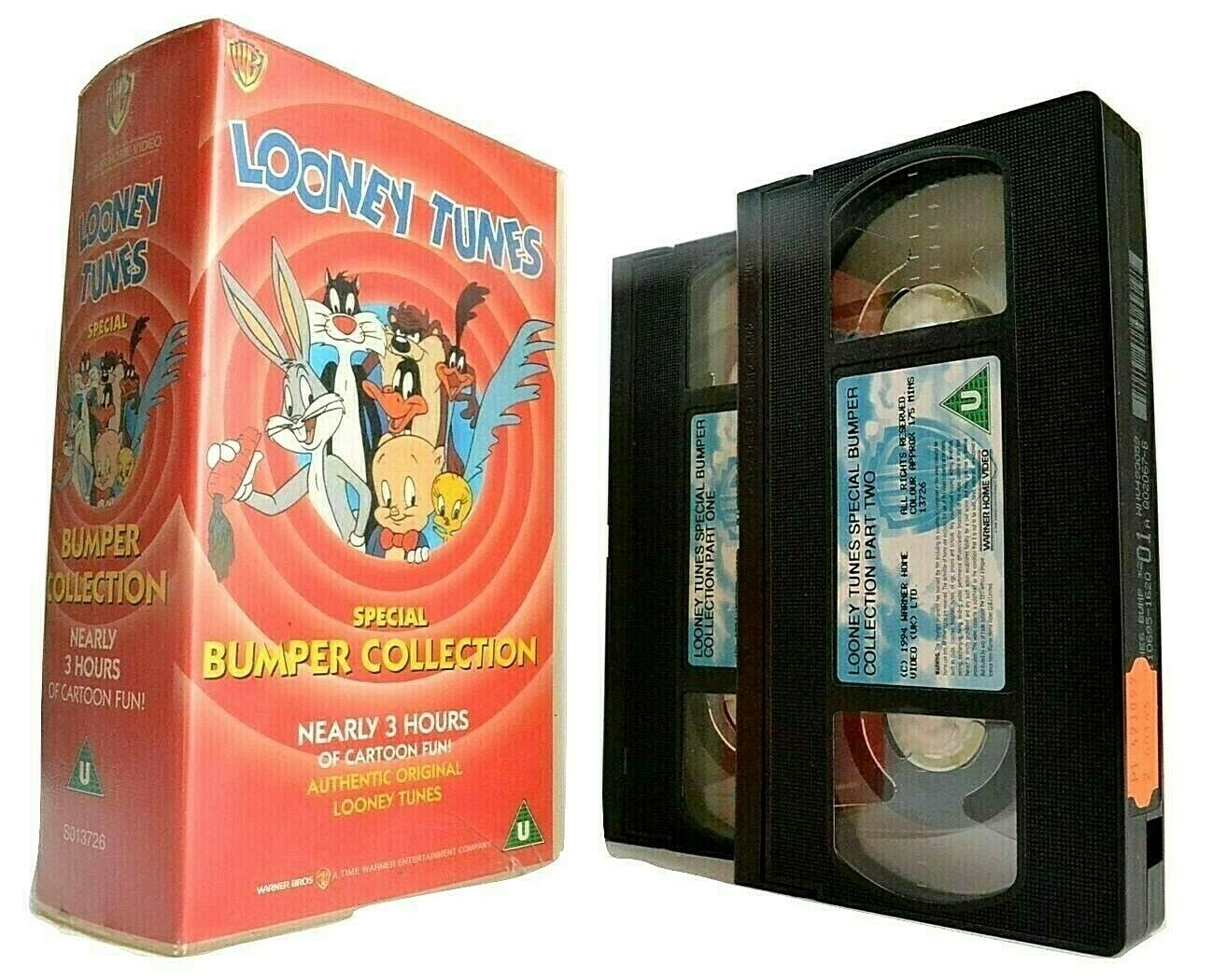 Looney Tunes: Special Bumper Collection - Bugs Bunny - Daffy Duck - Kids - VHS
