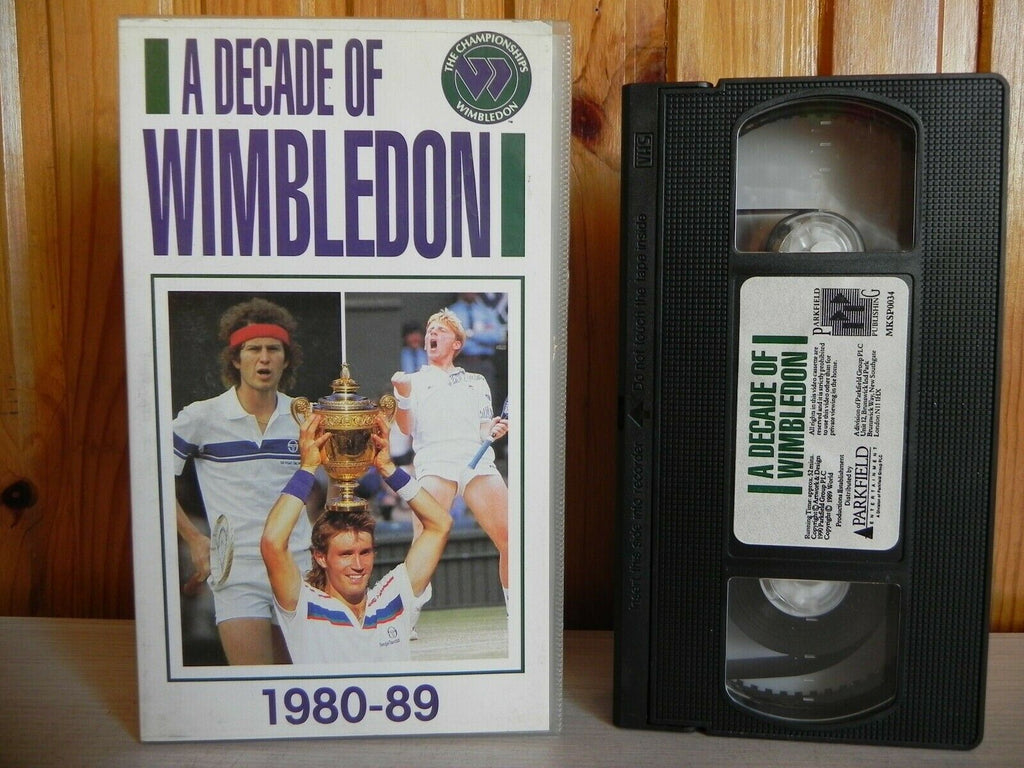 Decade, Deleted Title, John, McEnroe, No, Of, Pal, Phenomenon, Sports, Tennis, United Kingdom, VHS, Wimbledon