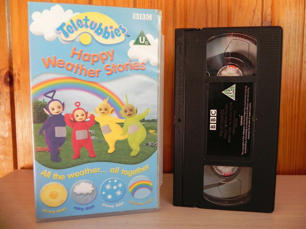 BBC Teletubbies - Numbers Colours Shapes - Sing Dance Rhyme - 0-5 Yr Magic - VHS