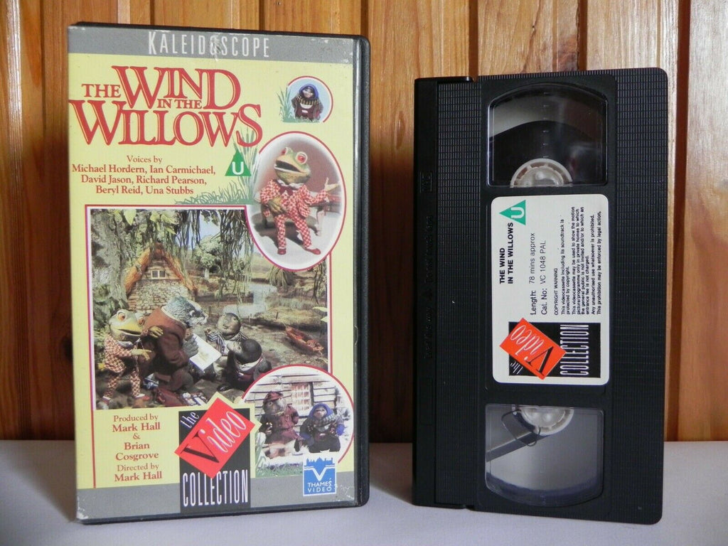 The Wind In The Willows - Kaleidoscope - Adventure - Animated - Kids - Pal VHS