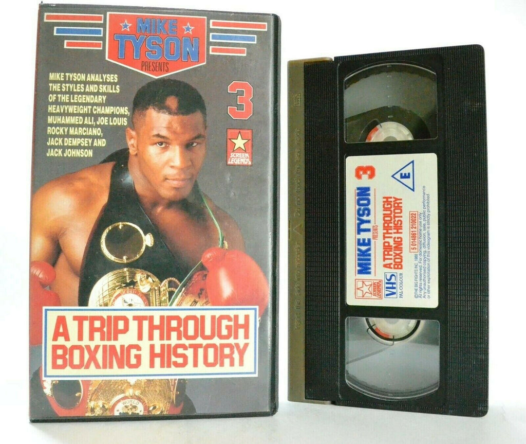 Mike Tyson: A Trip Through Boxing History - Legendary Boxer - Sports - Pal VHS