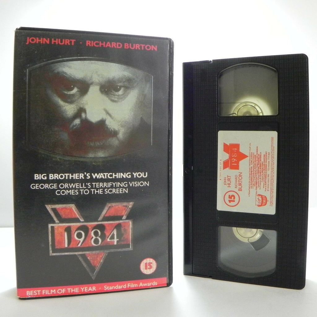 1984, Burton, By, Classic, Classical, Drama, Masterpiece, Novel, Pal, Richard, Richard Burton, VHS