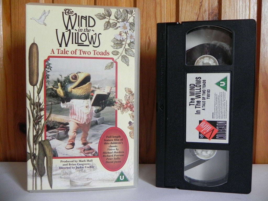The Wind In The Willows: A Tale Of Two Toads - Thames Video - Animated - VHS
