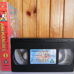 Animaniacs, Animation, Animation/Anime, Children's & Family, No, PAL, Spielberg, Steven, U, United Kingdom, VHS, Vintage, Volume