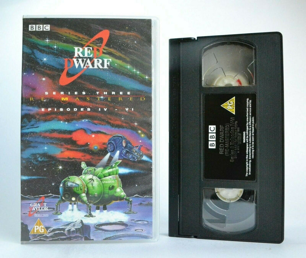 Red Dwarf: Series 3/Episodes 4-6 - Remastered - Sci-Fi Comedy Franchise - VHS