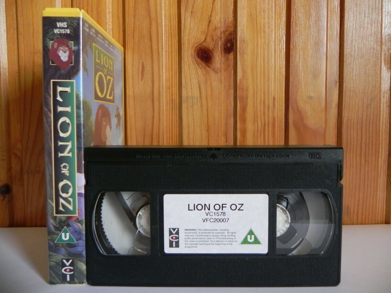 Lion Of Oz - VCI - Animated - Tim Curry - Kathy Griffin - Children's - Pal VHS