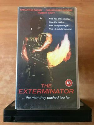 The Exterminator (1980): Crime Action - Grindhouse - Robert Ginty - Pal VHS