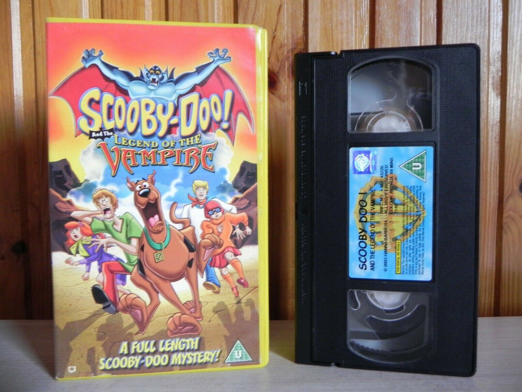 Scooby-Doo And The Legend Of The Vampire - All-New Adventure - Cartoon - Pal VHS
