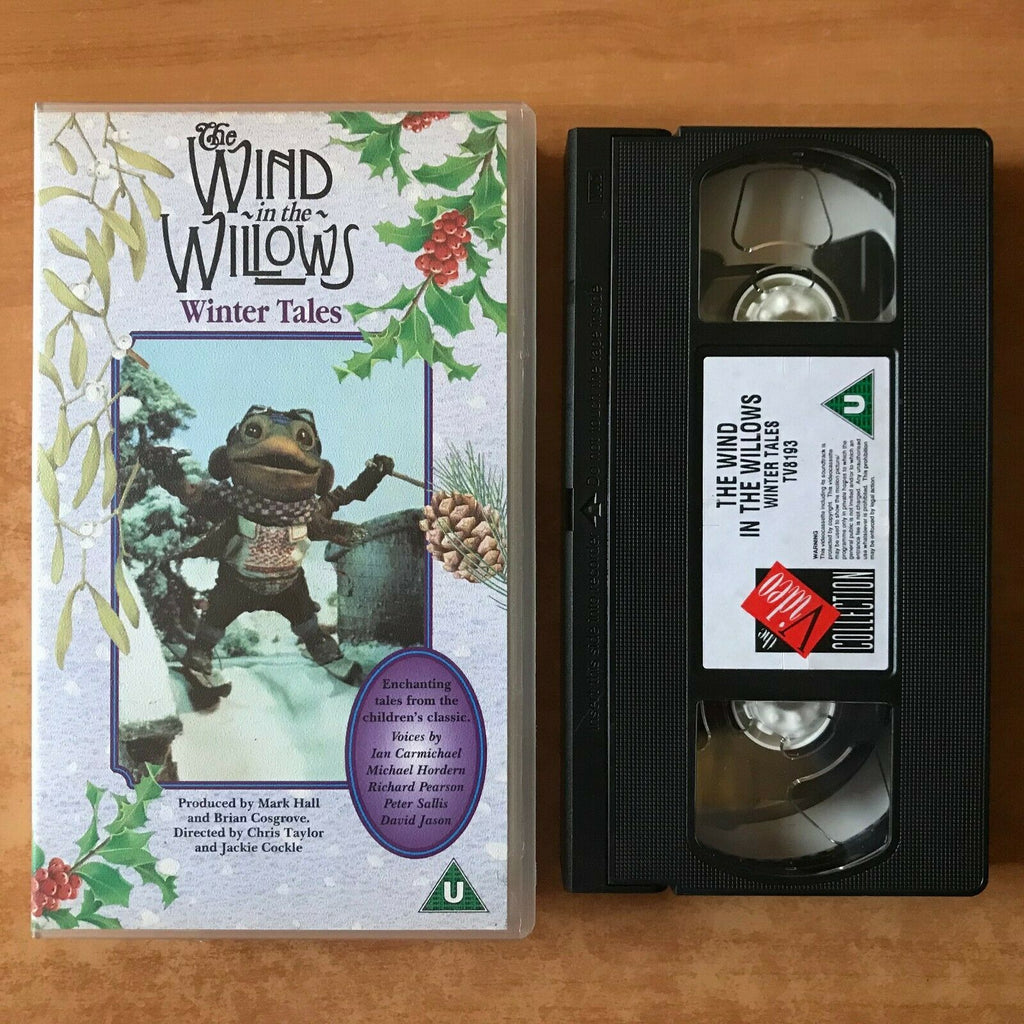"The Wind In The Willows: Winter Tales (""The Rescue"") David Janson - Kids - VHS"