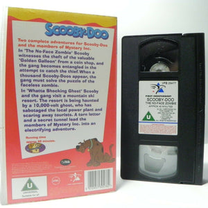 Scooby-Doo: The No-Face Zombie - Hannha-Barbera Classic - Animated - Kids - VHS