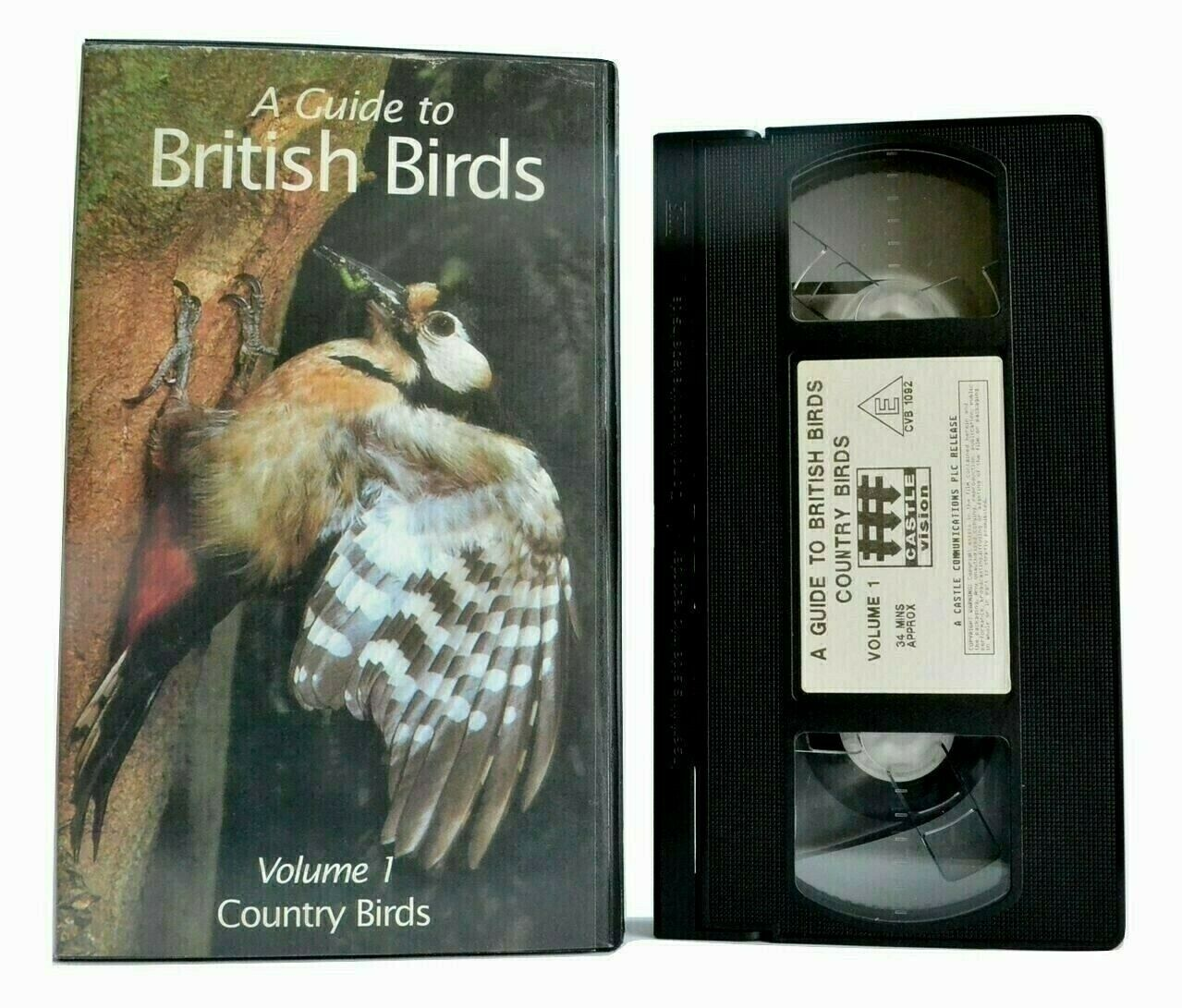 Birds, British, Country, Documentary, Guide, Linnet, No, Pal, Rook, Teal, To, VHS
