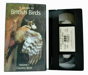 A Guide To British Birds, Vol.1: Country Birds - Teal - Rook - Linnet - Pal VHS