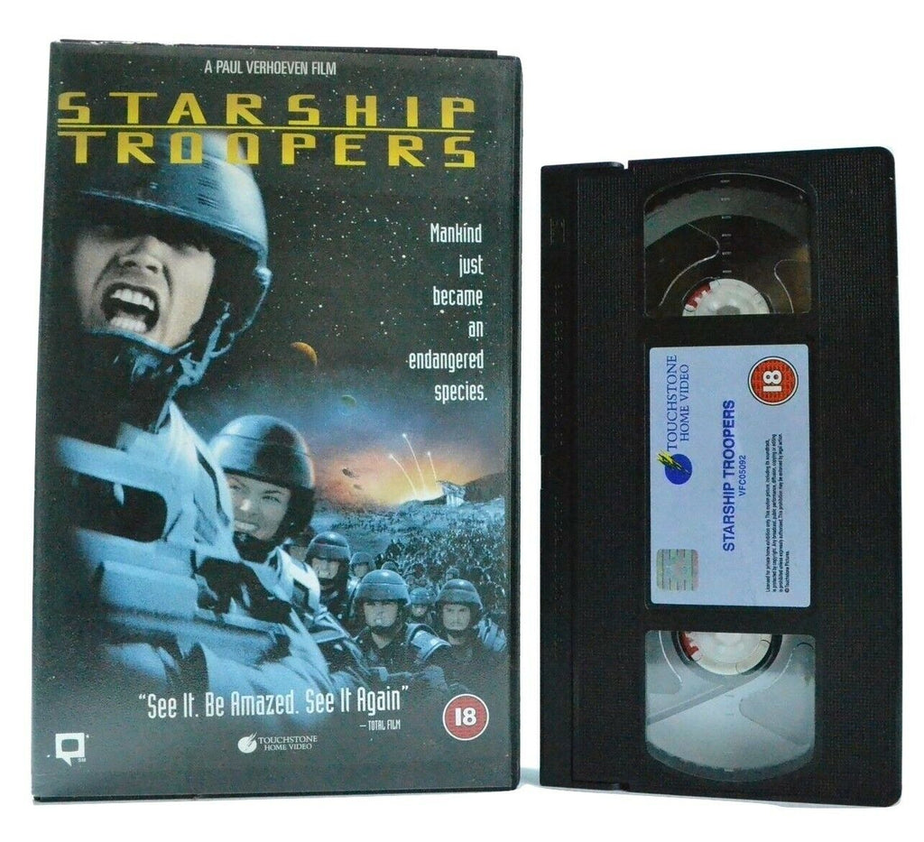 "Starship Troopers - Alien Shoot""Em""Up - Ex-Rental - Big Box Video - Sci-Fi - VHS"