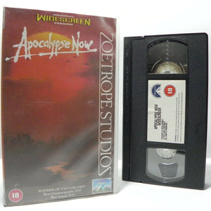 Apocalypse Now: F.Coppola Classic - (1979) War Drama - Widescreen - Pal VHS