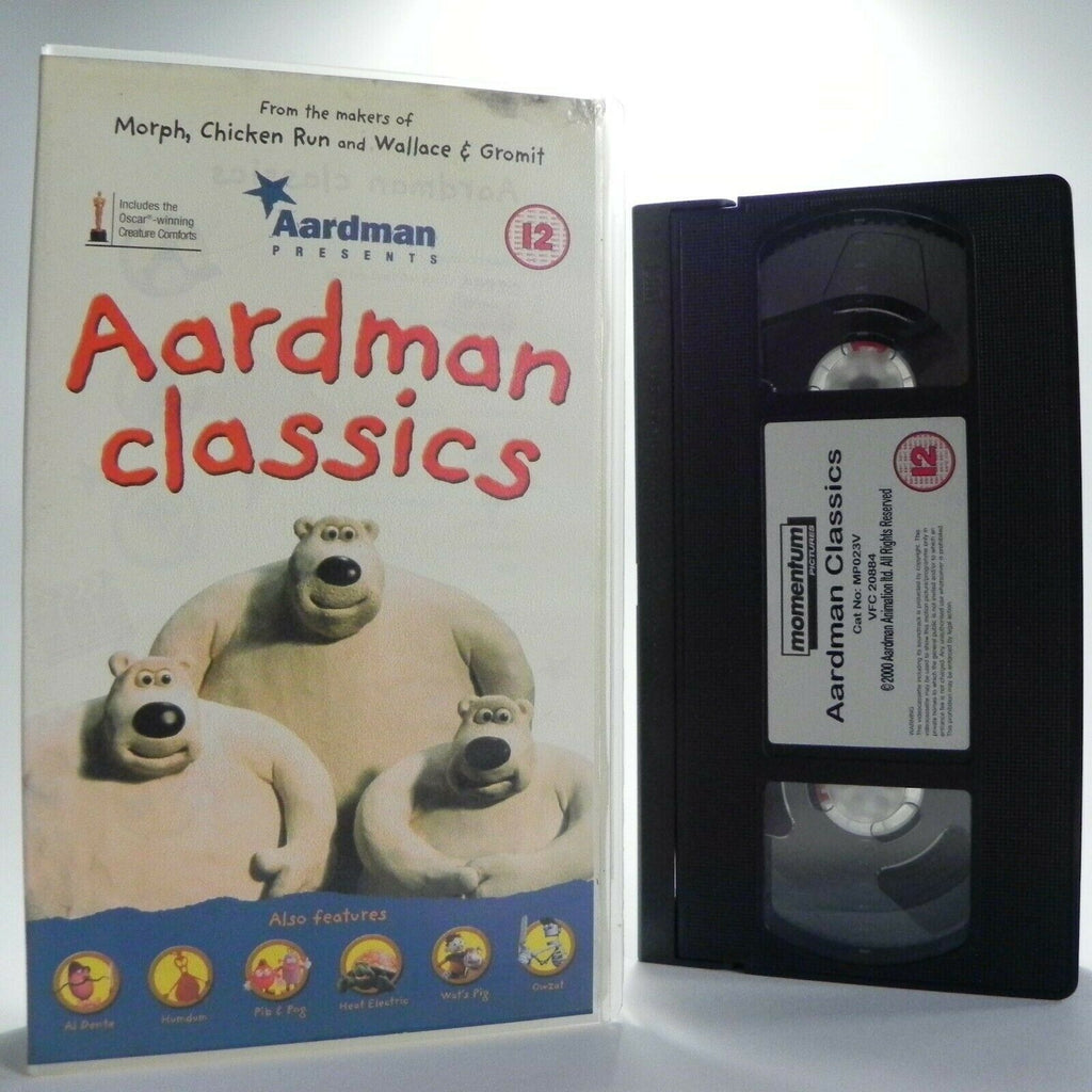 Aardman Classics - Ultimate Animated Collection - Short Films - Kids - Pal VHS