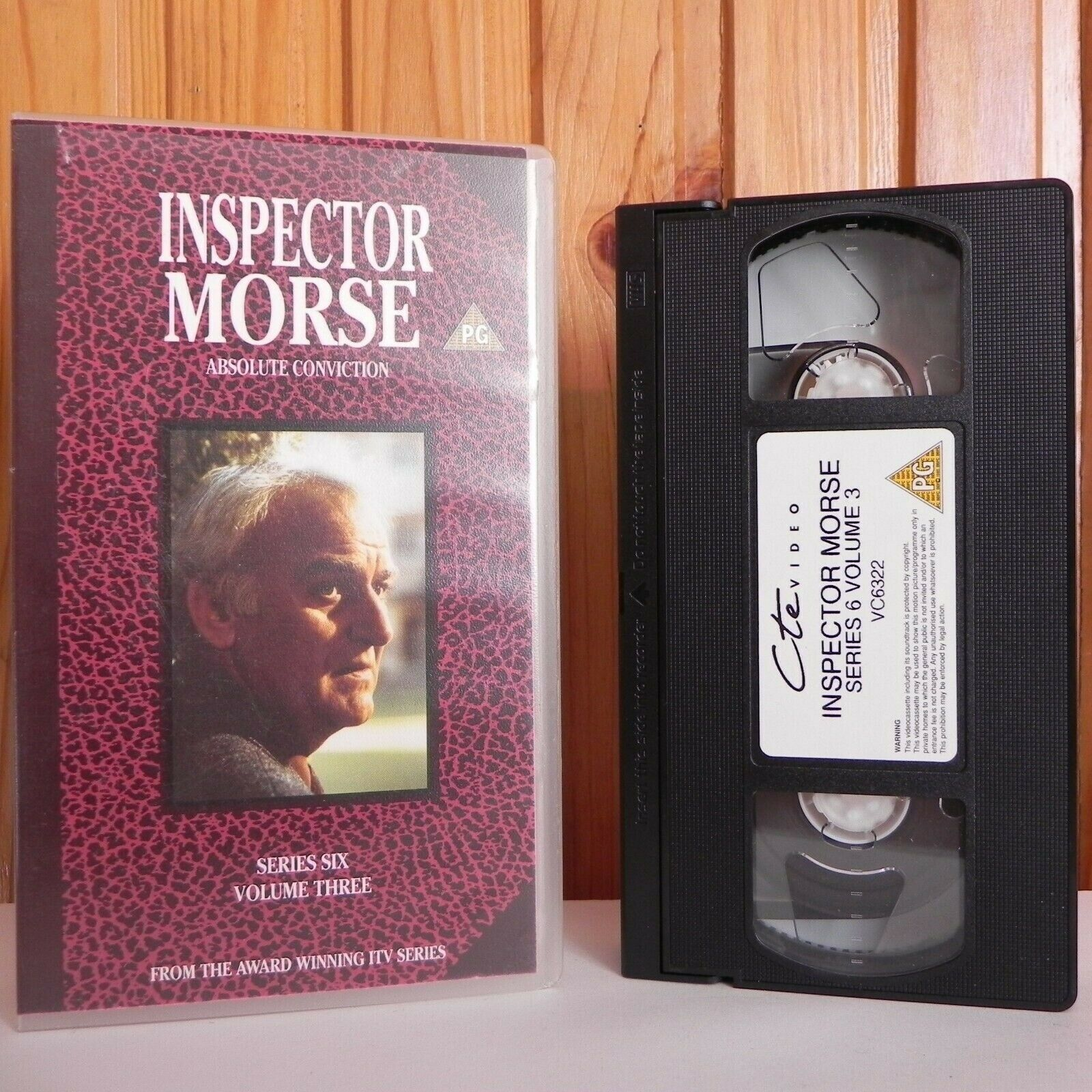 Absolute, Conviction, Inspector, No, PAL, Series, TV, TV Shows, VHS, Volume