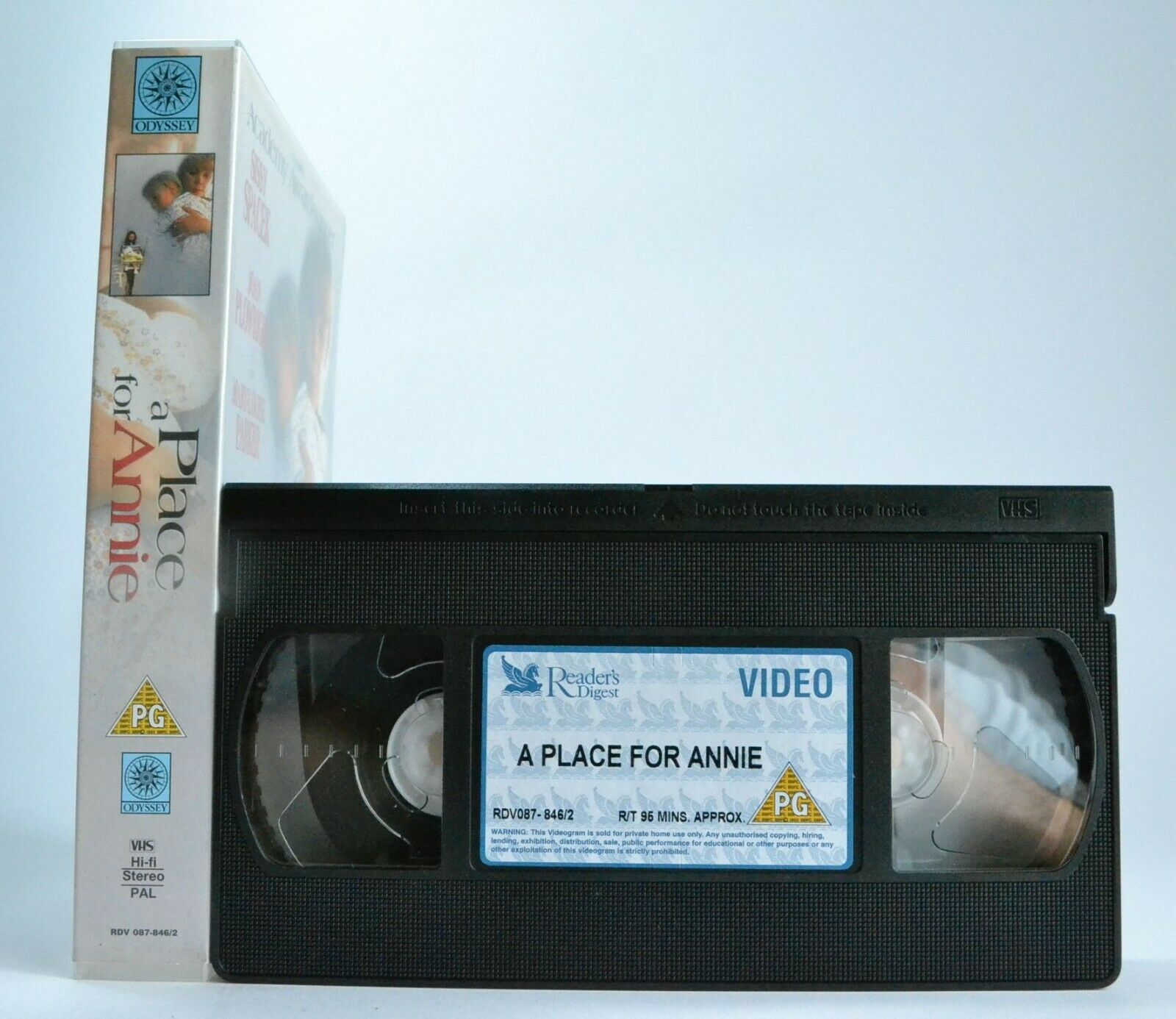 Based, Drama, For, Movie, On, Pal, Place, Sissy, Spacek, Story, True, TV, VHS