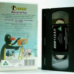 Pingu: Barrel Of Fun - Lovable Little Penguin - BBC Children's Series - Pal VHS