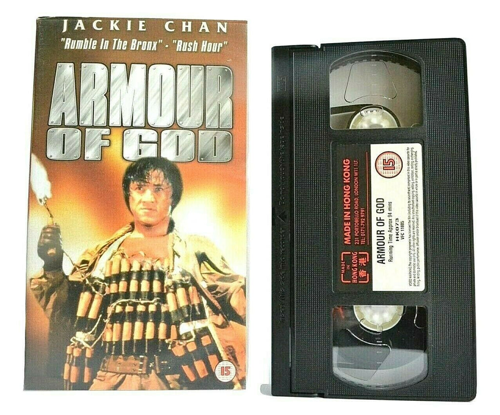 Armour Of God (1986): 'Indiana Jones' Style - Action Comedy - Jackie Chan - VHS