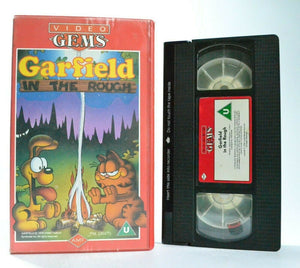 Garfield: In The Rough (1978) - Animated Classic - Camping Adventures - Pal VHS