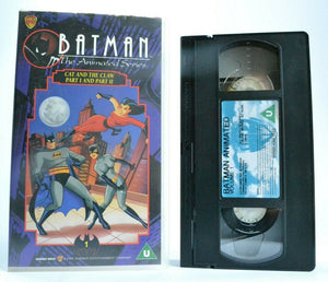 Batman: The Animated Series - Cat And The Claw - 2 Episodes - Children's - VHS