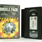Robots Wars: Double Pack - Special Edition - Mayhem Entertainment - Pal VHS