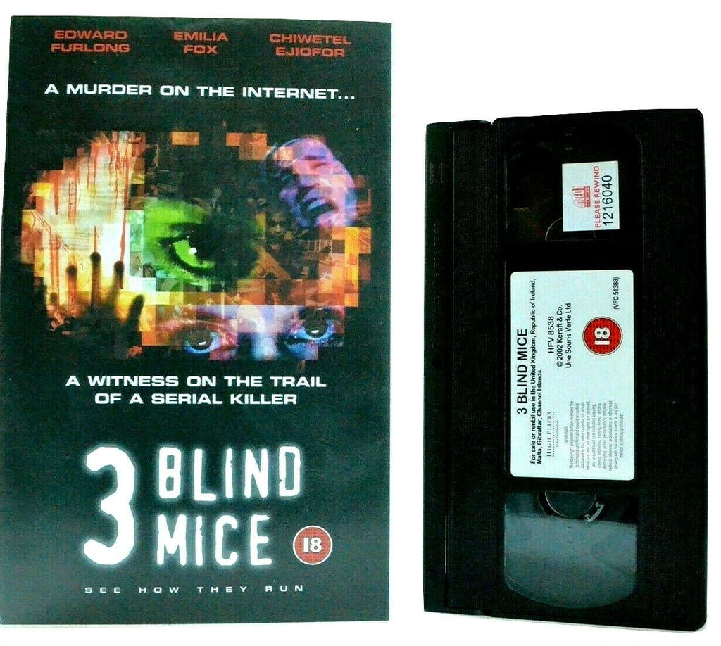 Blind, Burner, Pal, Slasher, Slow, Thriller & Mystery, VHS