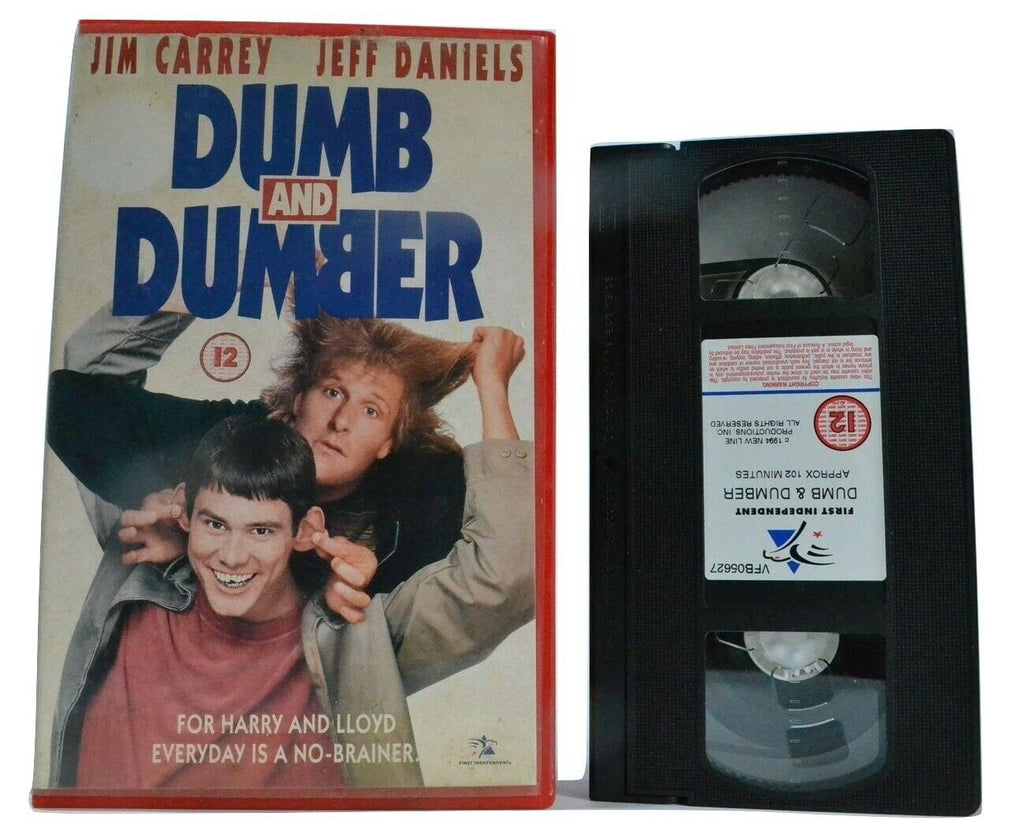 Dumb And Dumber: Road Trip Action [Big Box] Jim Carrey / Jeff Daniels - Pal VHS