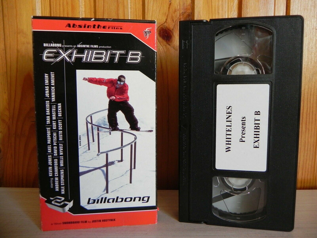 Exhibit B - An Introduction To The Billabong Snowboard Team - Kevin Jones - VHS