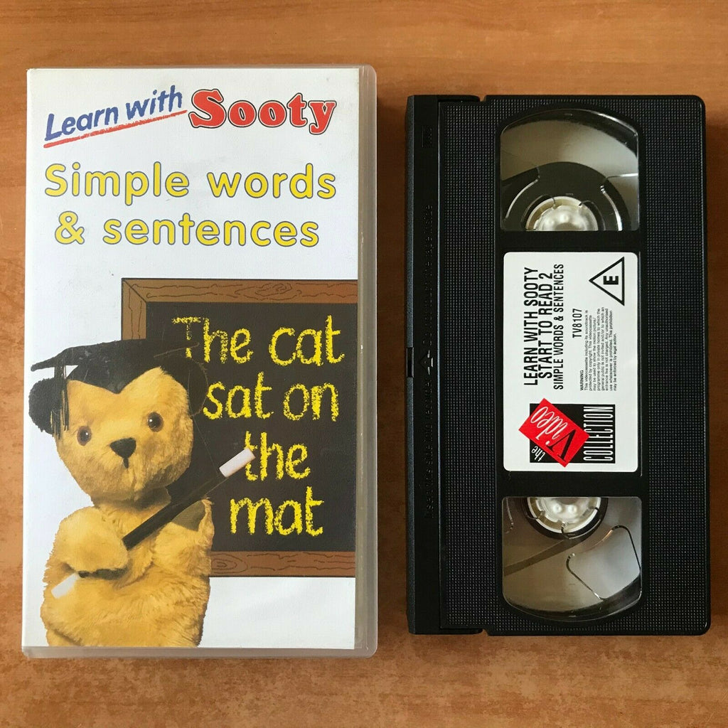Learn With Sooty: Simple Words And Sentences; Educational - Children's - Pal VHS