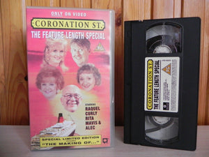 Coronation Street: The Feature Lenght Special [Includes Making Of] TV Series - Pal VHS