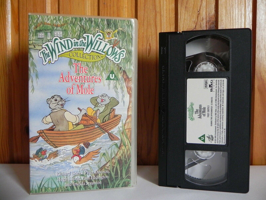 The Wind In The Willows: The Adventures Of Mole [Animated] Children's - Pal VHS