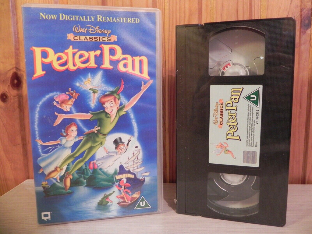 New - Peter Pan - Walt Disney Video - Classic - Still Sealed - 202452 - Pal VHS