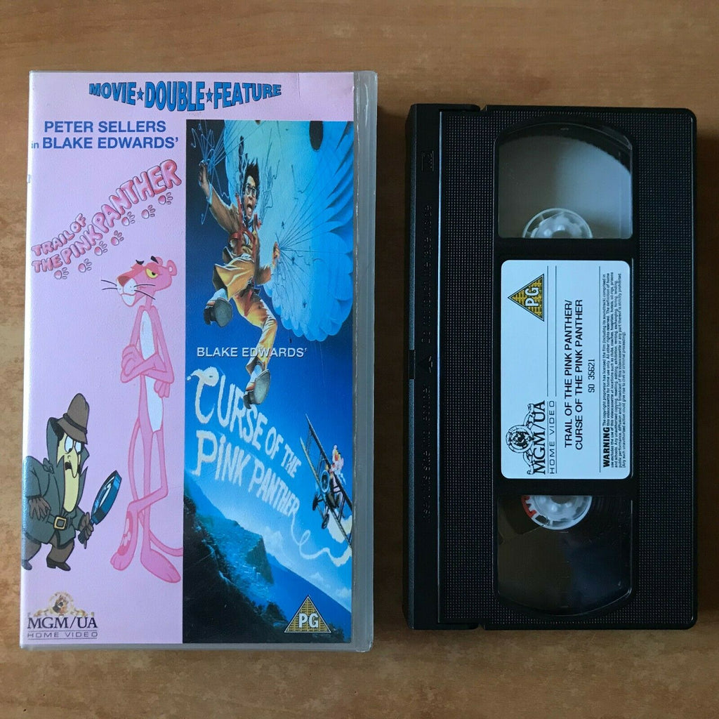 Trail Of The Pink Panther / Curse Of The Pink Panther [Double Comedy] Pal VHS
