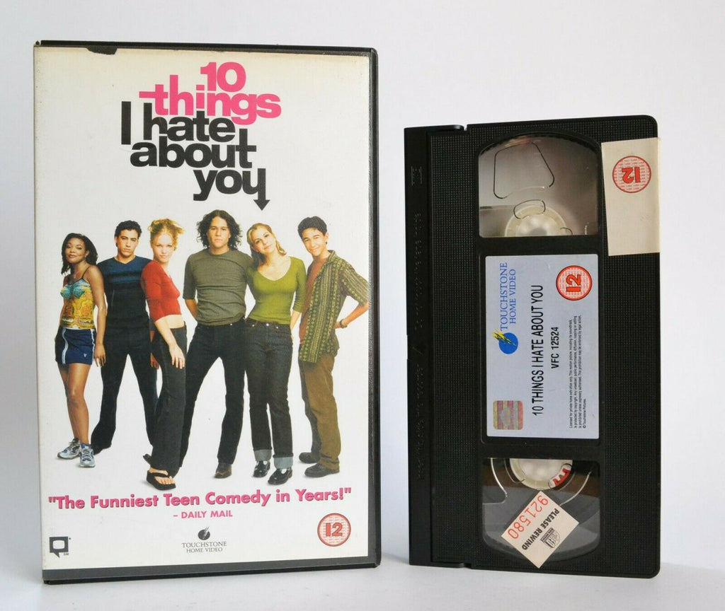 10 Things I Hate About You: Teen Romantic Comedy - Large Box - Ex-Rental - VHS