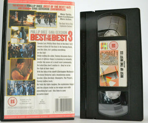 15, 1996, Arts, Back, Best, Best Of The Best 3, Christopher Mcdonald, Martial, Martial Arts, No, Of, PAL, Phillip, Phillip Rhee, Rhee, The, Turning, VHS