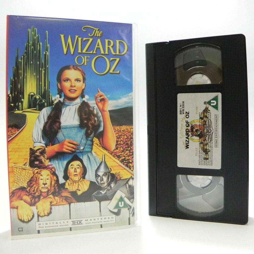 The Wizard Of Oz - MGM Digitally Remastered - Children's Fantasy Adventure - VHS