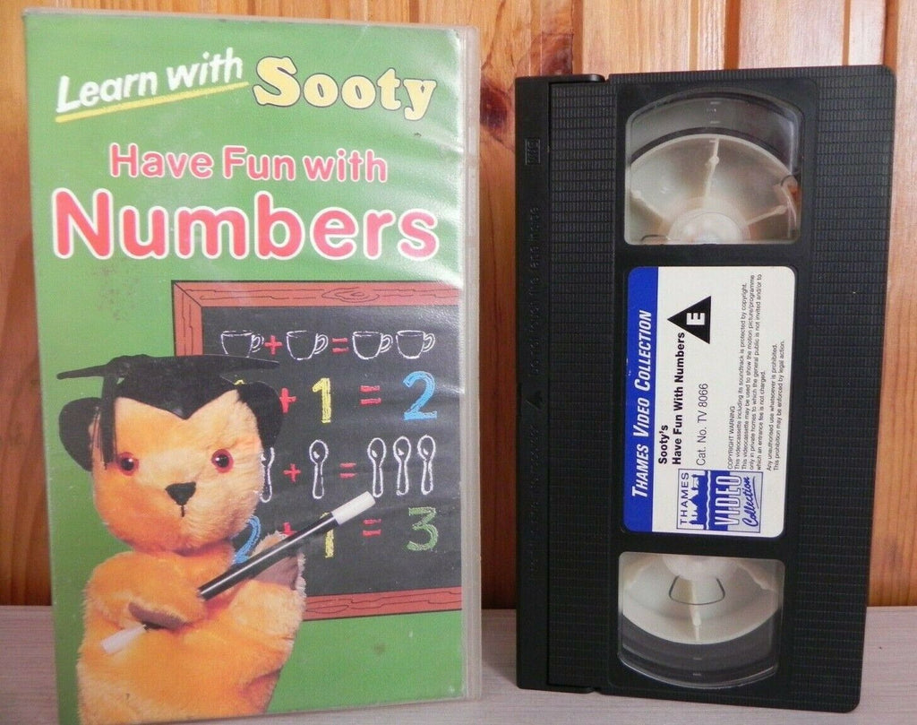 Learn With Sooty: Have Fun With Numbers - Preschool Education - Kids - Pal VHS