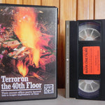 Terror On 40th Floor - John Forsythe - Mark One - Bigbox - Pre Cert - VHS (274)
