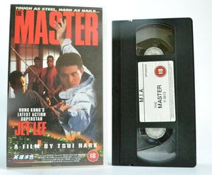The Master: (1992) San Fran Action - Martial Arts - Jet Li - Tsui Hark - Pal VHS