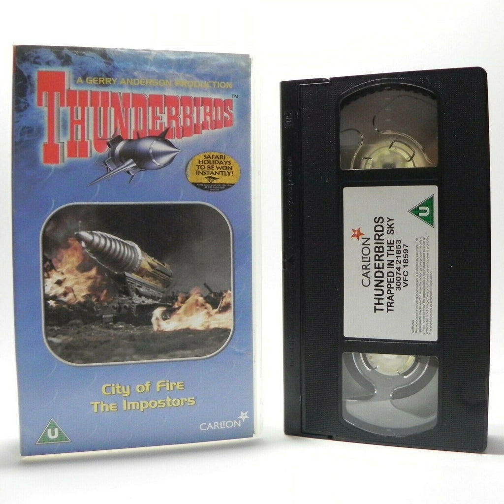 Thunderbirds: City Of Fire - Classic Animation - Digitally Restored - Kids - VHS