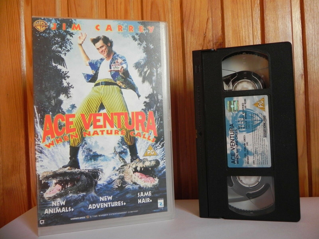 Ace Ventura - Large Box - Warner - Comedy - Jim Carrey - Ian McNeice - Pal VHS