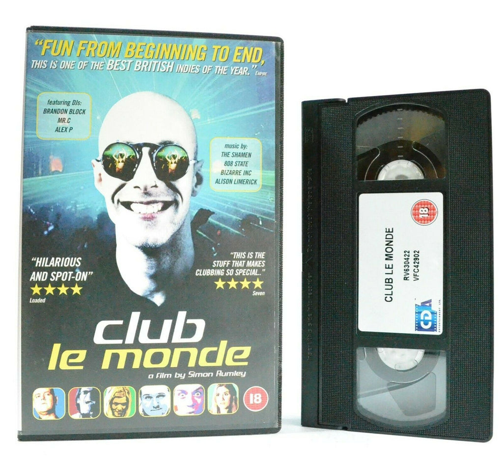 Club Le Monde: Independent Film - Drama - Large Box - London Nightclub - Pal VHS