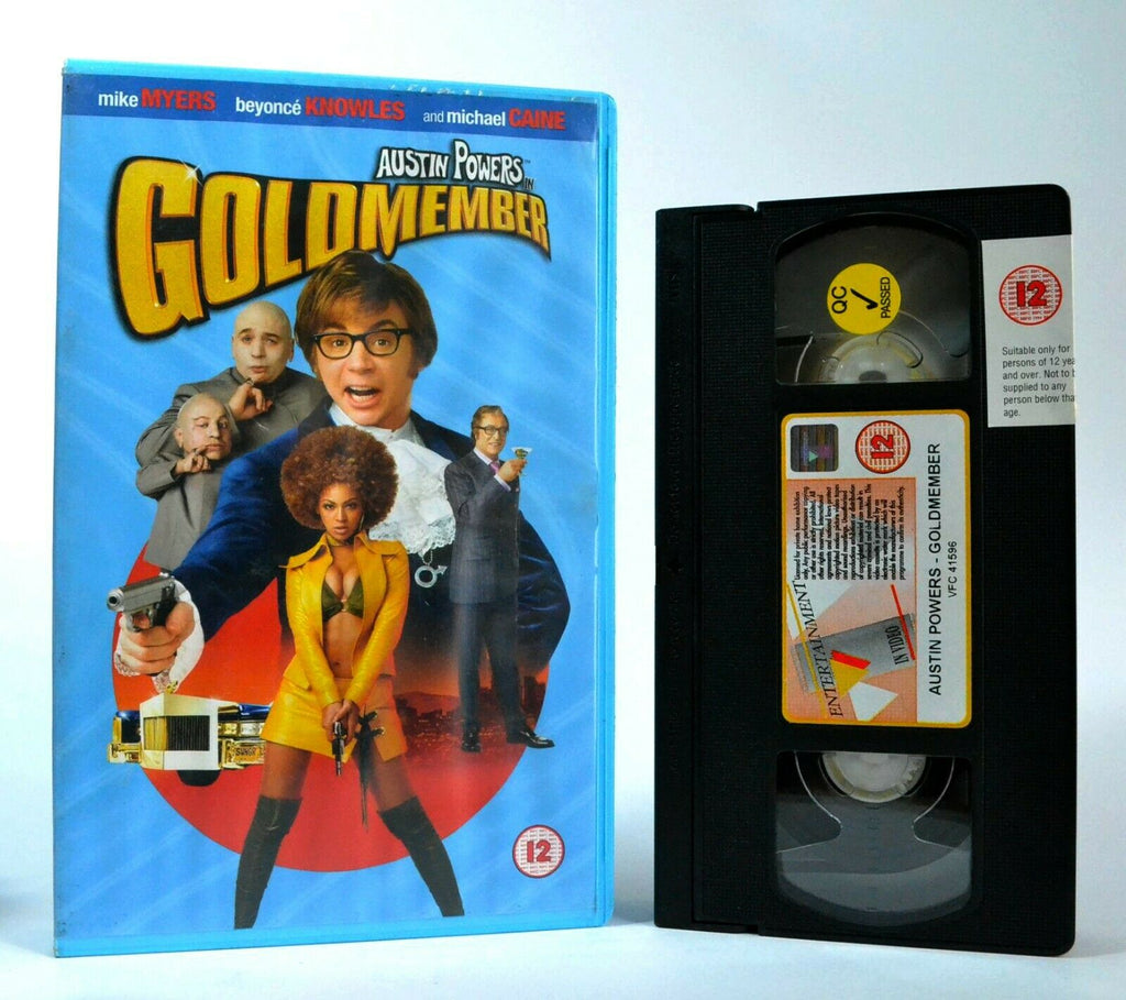 Austin Powers In Goldmember: Spy Action Comedy - Large Box - M.Myers - Pal VHS