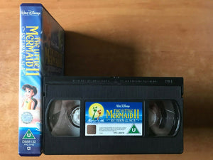 The Little Mermaid 2: Return To The Sea [Walt Disney] Animated - Kids - Pal VHS