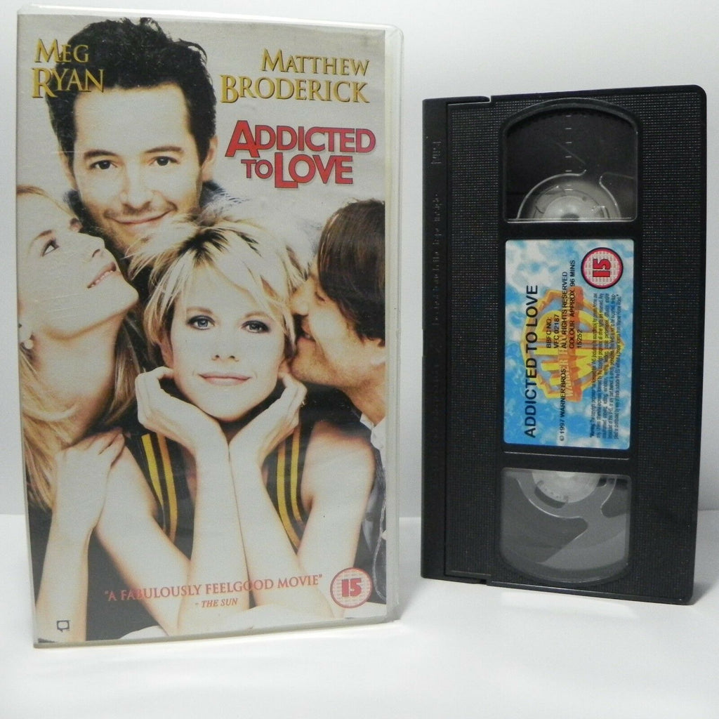 Addicted To Love: (1997) Romantic Comedy - Meg Ryan/Matthew Broderick - Pal VHS